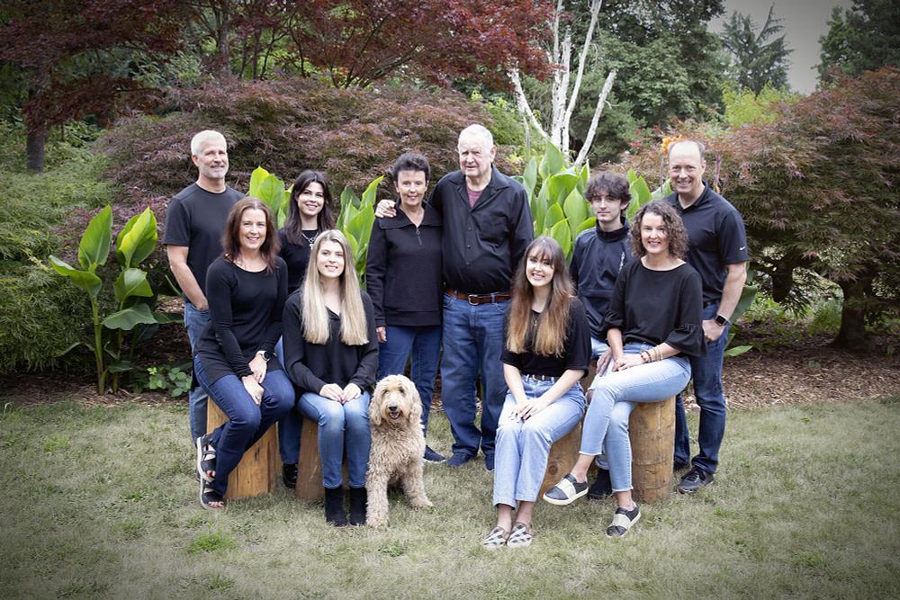 Multi Generational Portrait Family Portraits Family Photography West Linn Lake Oswego Portland Vancouver